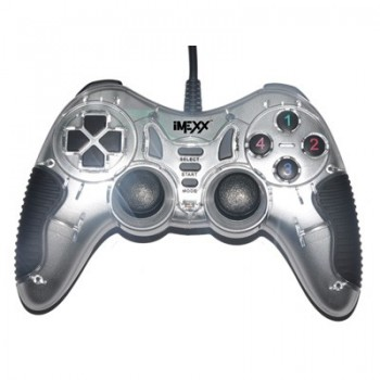 GAME PAD USB IMEXX DUAL SHOCK VIBRATION IME-41374