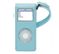 IPOD ILUV LEATHER CASE PARA NANO BLUE I-105A BLU