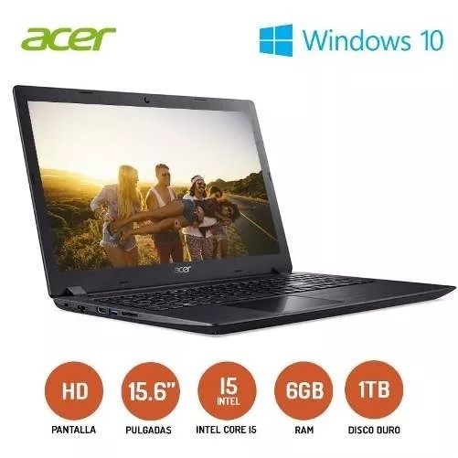 NOTEBOOK ACER ASPIRE A315-51-51SL 15.6
