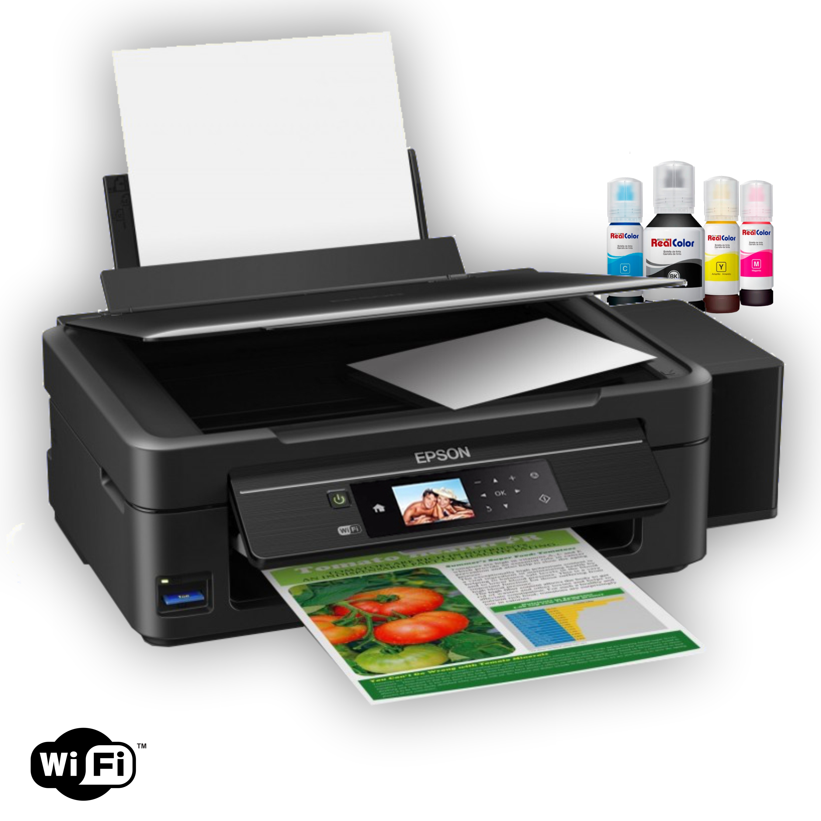 PRINTER CANON MX-472 + SISTEMA TINTA REAL COLOR