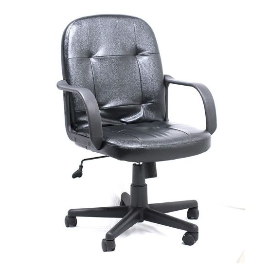 SILLA EJECUTIVA AM160GEN27 C/B BLACK LEATHER