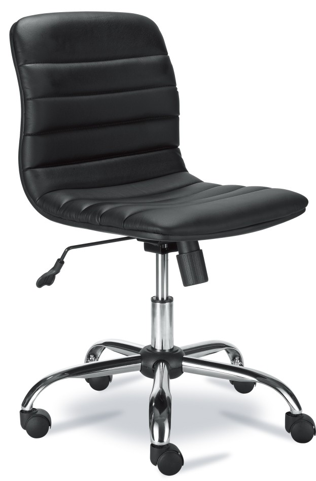 SILLA SEMI-EJECUTIVA XTECH (AM160XTK03) BLK/CHROME