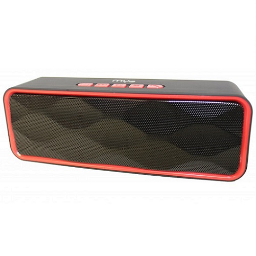 Bocinas Portable Myo-b30r Bluetooth Red