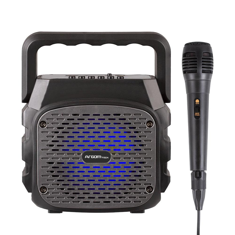 Bocinas Karaoke Mini Argom Rumbabox K4
