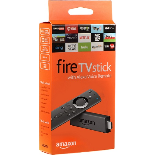 Amazon Fire Stick W/volume,mute,power Buttons