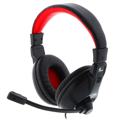 Mic/aud Xtech  Xth-500 Gaming Black