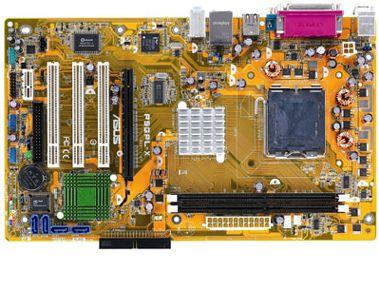 Mother Board Asus P4 Sk775 Bus800 P5gpl-x Dual Core