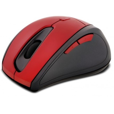 Mouse Wireless Klipx Red Kmw-356rd