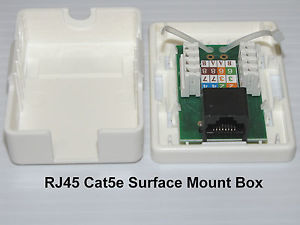 Rj-45 Nexxt  Surface Mount (1) Cat5e