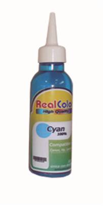 Tinta Real Color Cyan Universal122ml